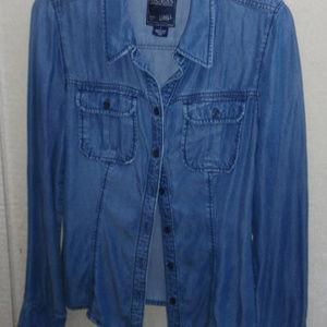 Guess Indigo Blue Shirt size S (4)